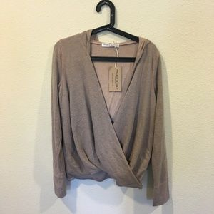 NWT Project Social T wrap sweater